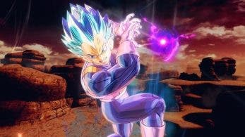Este es el diseño de Super Saiyan God Super Saiyan Evolution Vegeta para Dragon Ball Xenoverse 2