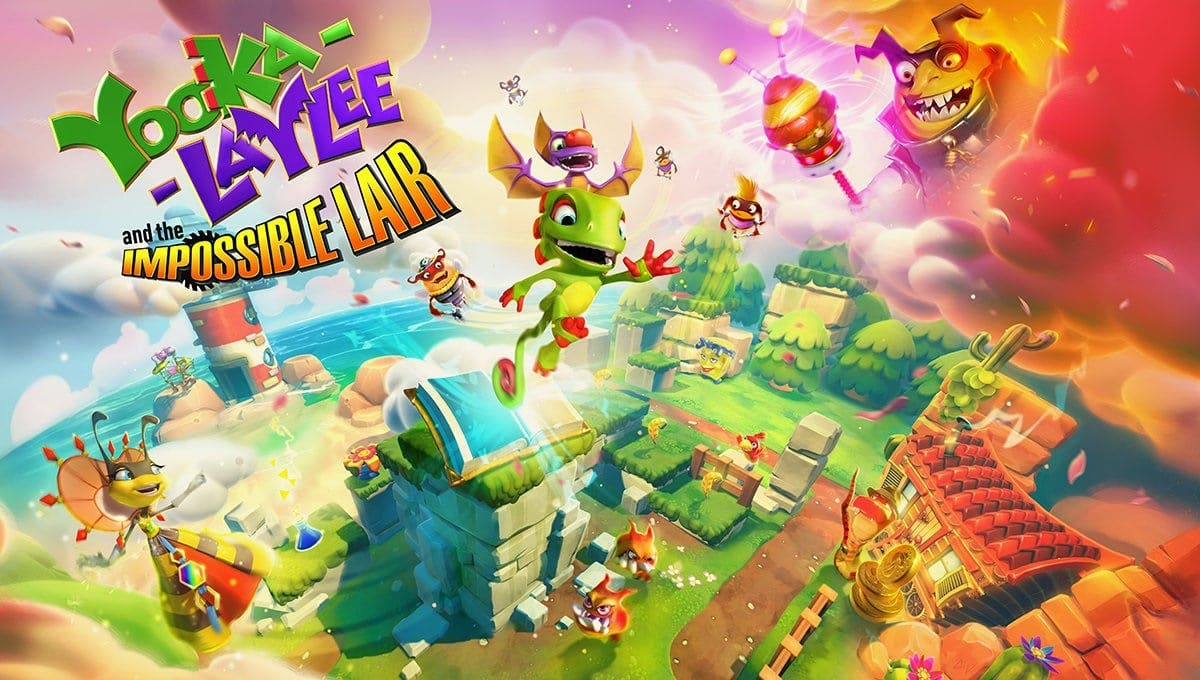 Anunciado Yooka-Laylee and the Impossible Lair para Nintendo Switch