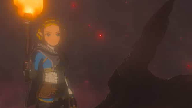 Fans creen oír voces ocultas al invertir el audio del tráiler de Zelda: Breath of the Wild 2
