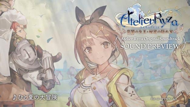 Koei Tecmo comparte un adelanto de la banda sonora de Atelier Ryza