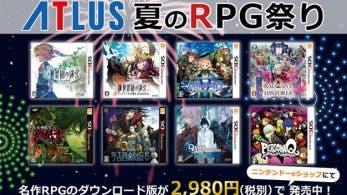 Atlus reduce permanentemente el precio de 8 juegos en la eShop japonesa de 3DS