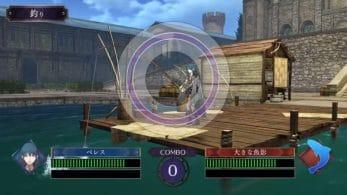 Se comparten detalles del sistema de pesca en Fire Emblem: Three Houses