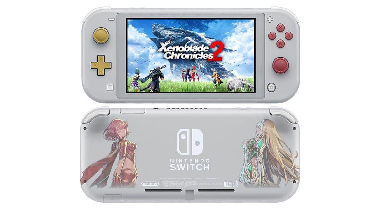 Imaginan de forma genial cómo sería una Nintendo Switch Lite edición Xenoblade Chronicles 2