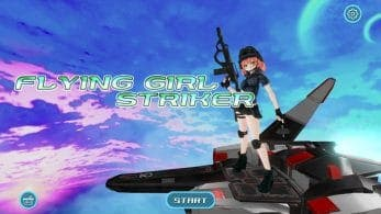 Flying Girl Striker confirma su lanzamiento en Nintendo Switch