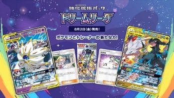 Revelado el próximo set de cartas del JCC de Pokémon para Japón: Dream League