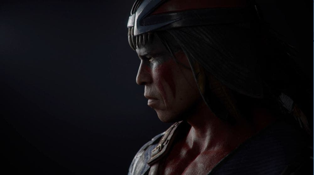 Primer vistazo a Nightwolf en Mortal Kombat 11