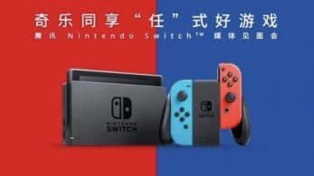 La empresa china Tencent crea TenNin, una filial dedicada a Nintendo Switch