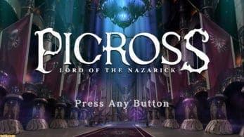 Anunciado Picross Lord of the Nazarick para Nintendo Switch