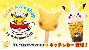 Revelado parte del menú del puesto de Pokémon Café para el Pikachu Outbreak 2019