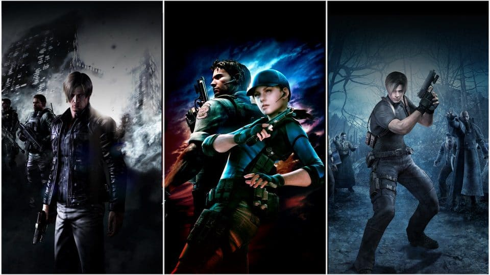 Capcom lanza Resident Evil Triple Pack para Switch