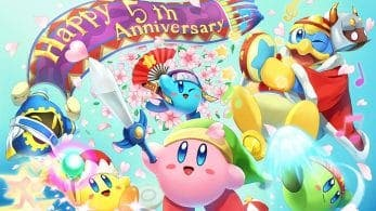 Hoy se cumple el 5º aniversario de Kirby Fighters Deluxe y Dedede's Drum Dash Deluxe