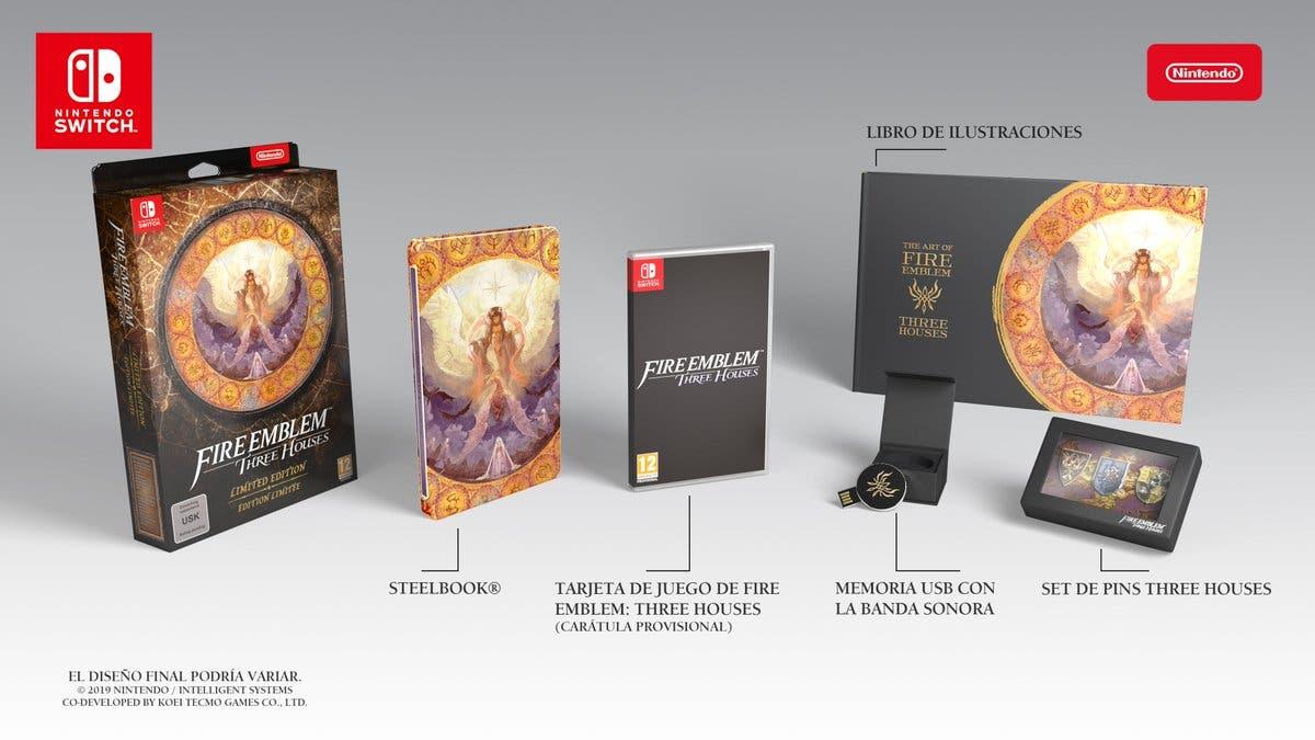 Unboxing de la edición limitada europea de Fire Emblem: Three Houses