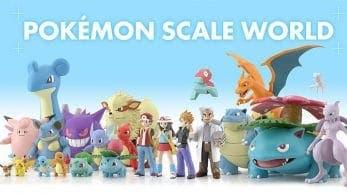 Más detalles de las figuras de Pokémon de Kanto que lanzará Bandai en Japón