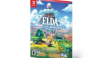 Este es el diseño de la caja de la Zelda: Link's Awakening Dreamer Edition americana