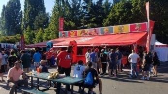 Nintendo monta un stand en el festival de comida Bite of Seattle