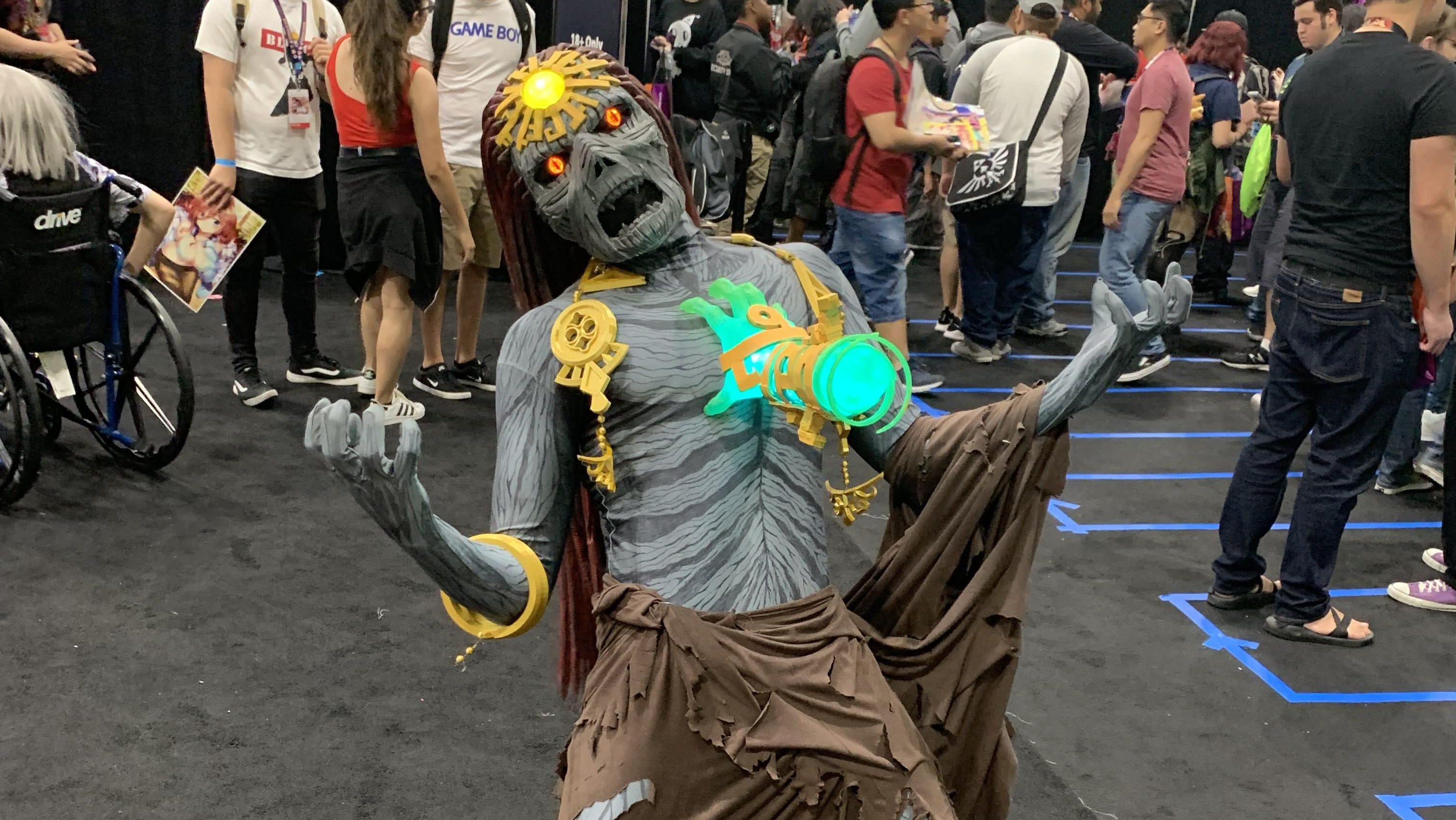 Alucina con este logrado cosplay de 'Ganondorf' en Zelda: Breath of the Wild 2
