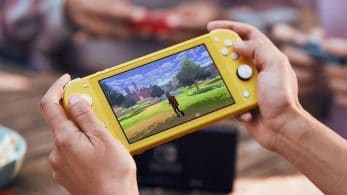 Nintendo Switch Lite parece usar la LED del botón Home para las notificaciones