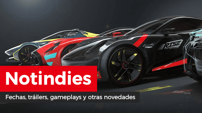 Novedades indies: RISE: Race The Future, Smoots Summer Games, The Jackbox Party Pack 6, AI: The Somnium Files, Streets of Rogue, Super Mutant Alien Assault, Gun Gun Pixies, Songbird Symphony y más