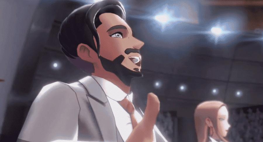 El Presidente Rose tiene un diseño ligeramente diferente en Pokémon: Alas del crepúsculo