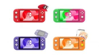 Fan crea diseños de Switch Lite inspirados en Super Mario Odyssey, Splatoon 2, Game Boy Advance, GameCube y más