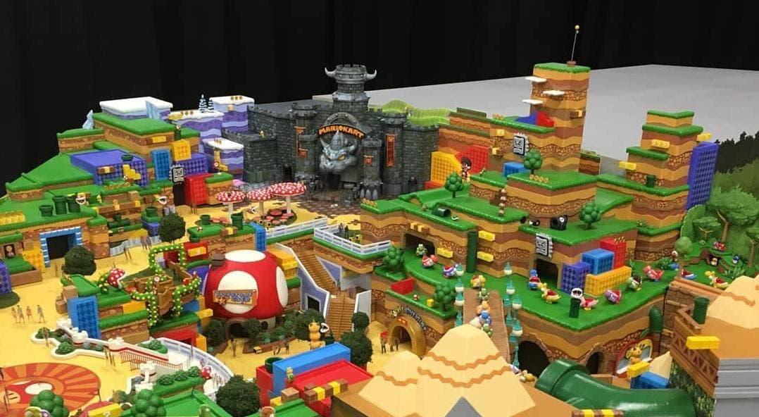 Rumor: Se filtran nuevos detalles e imágenes de Super Nintendo World