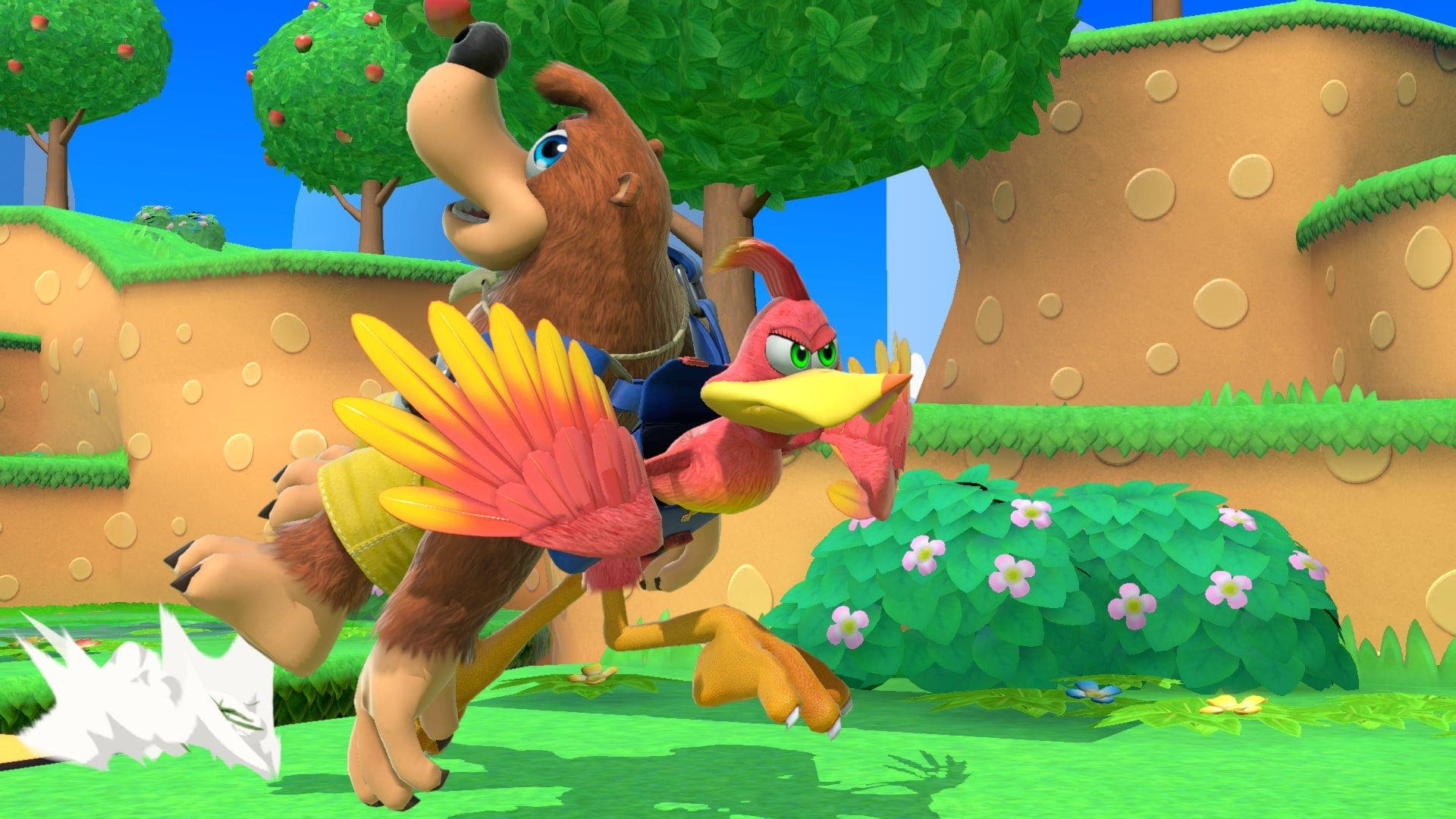Estas capturas de pantalla nos muestran al Héroe de Dragon Quest y Banjo-Kazooie al detalle en Super Smash Bros. Ultimate
