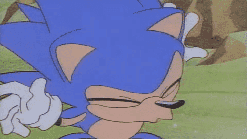 Sonic contaba con la habilidad de estornudar cuando se acercaba el peligro en el pasado