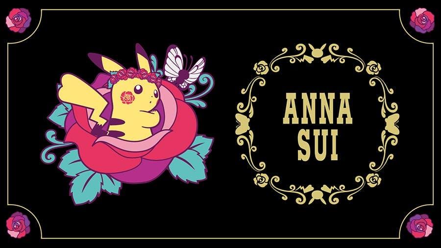Nueva línea de merchandising en Pokémon Center en colaboración con Anna Sui