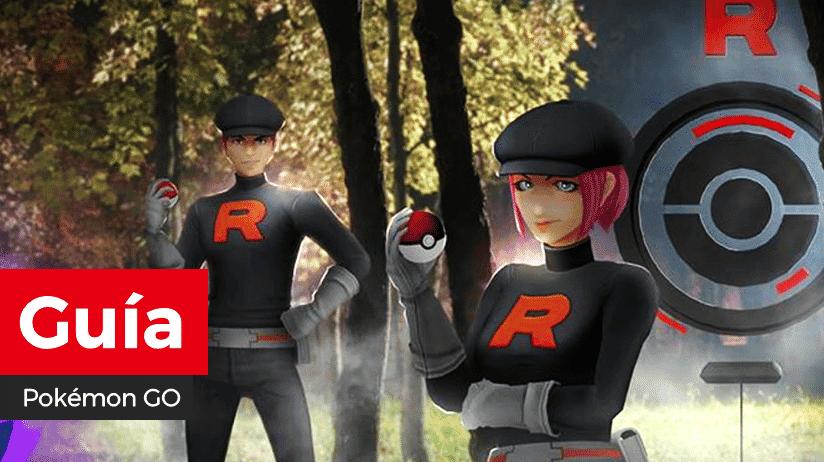 [Guía] Cómo averiguar el equipo del Team Rocket antes de luchar en Pokémon GO