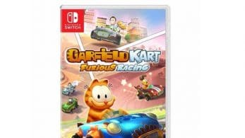Así luce el boxart europeo de Garfield Kart: Furious Racing para Nintendo Switch