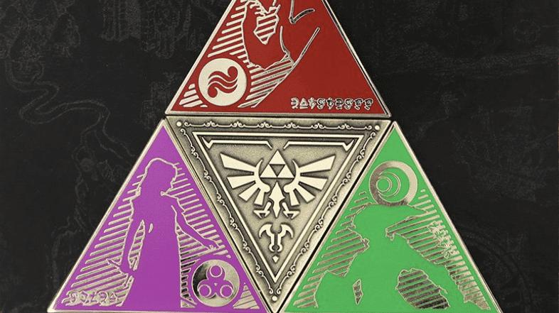 Penny Arcade pone a la venta este fabuloso set de pines de Zelda