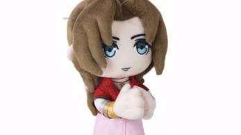 Aeris de Final Fantasy VII consigue su propio peluche en Japón