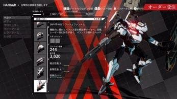 Marvelous comparte un nuevo tráiler de Daemon X Machina centrado en el ciclo de juego