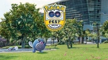 Poliwag variocolor protagoniza el próximo evento de Pokémon GO por el GO Fest Yokohama