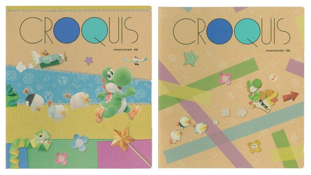 Sanei Boeki lanzará libros de croquis de Yoshi's Crafted World