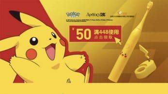 The Pokémon Company pone a la venta el cepillo eléctrico oficial de Pikachu