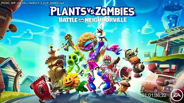 Battle for Neighborville' filtra trailer antes de su publicación — Plants vs Zombies