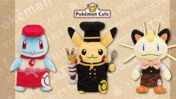Anunciada nueva mercancía exclusiva del Pokemon Café y el Pokémon Center en Osaka