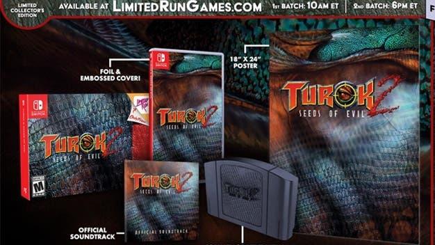 Limited Run Games lanzará un pack doble y una edición coleccionista de Turok 1 y 2