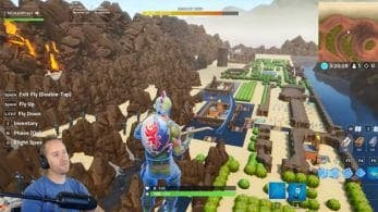 Recrean el primer The Legend of Zelda en Fortnite