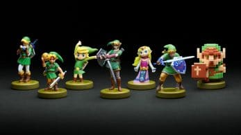 Docenas de amiibo de la serie The Legend of Zelda son repuestos en Amazon Japón