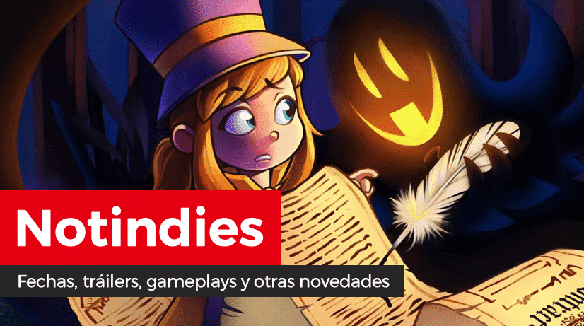 Novedades indies: Gun Gun Pixies, Heave Ho, Whipseey and the Lost Atlas, Bloodstained, 2nd iLL, Hamsterdam, Minoria, Pandemic, Spiritfarer, A Hat in Time, Bear With Me, Lines X, Obakeidoro!, Omega Labyrinth Life y más