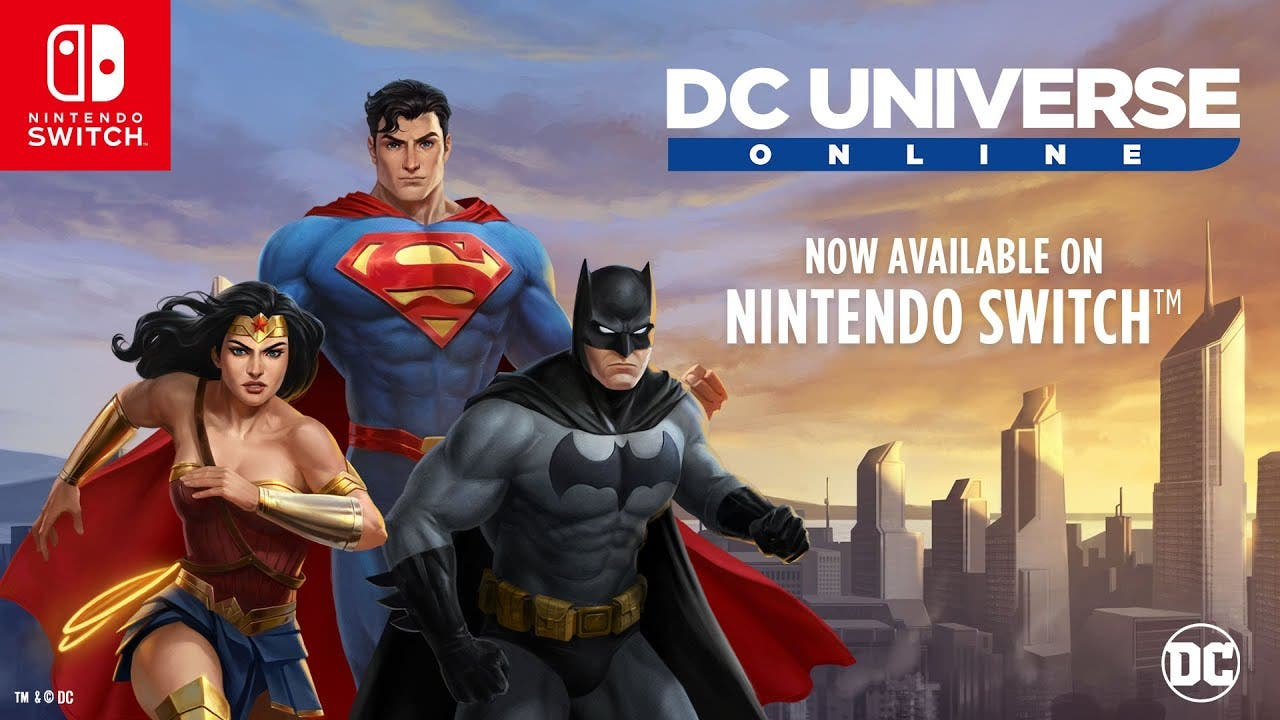 [Act.] DC Universe Online celebra su estreno en Nintendo Switch con este tráiler