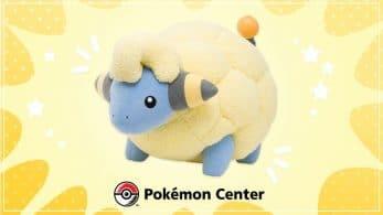 Pokémon Center ofrece este peluche de Mareep de tamaño real por 500$