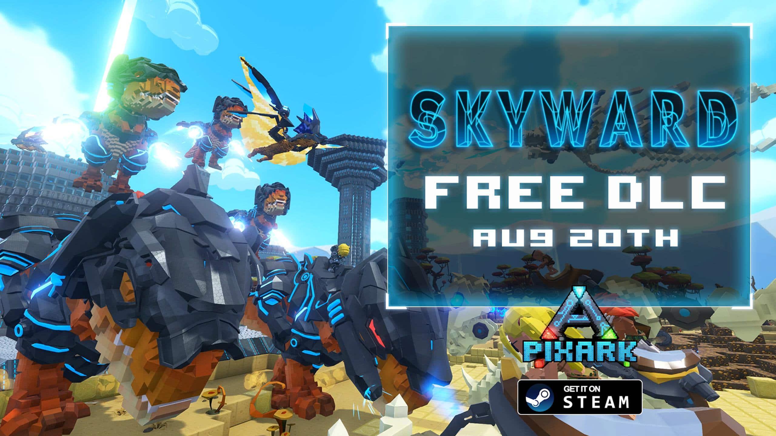 Skyward es el próximo DLC gratuito de PixARK