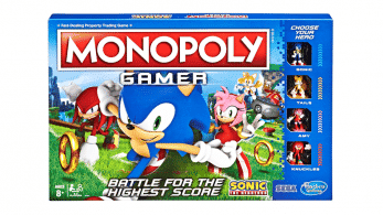 Así es Monopoly Gamer: Sonic the Hedgehog Edition, ya disponible