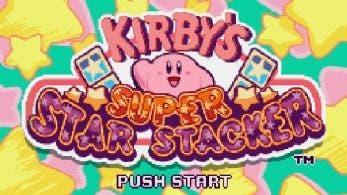 Kirby's Super Star Stacker de SNES recibe traducción por los fans