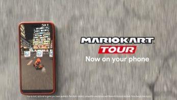 Los móviles se convierten en karts en el vídeo promocional de Mario Kart Tour de Google Play