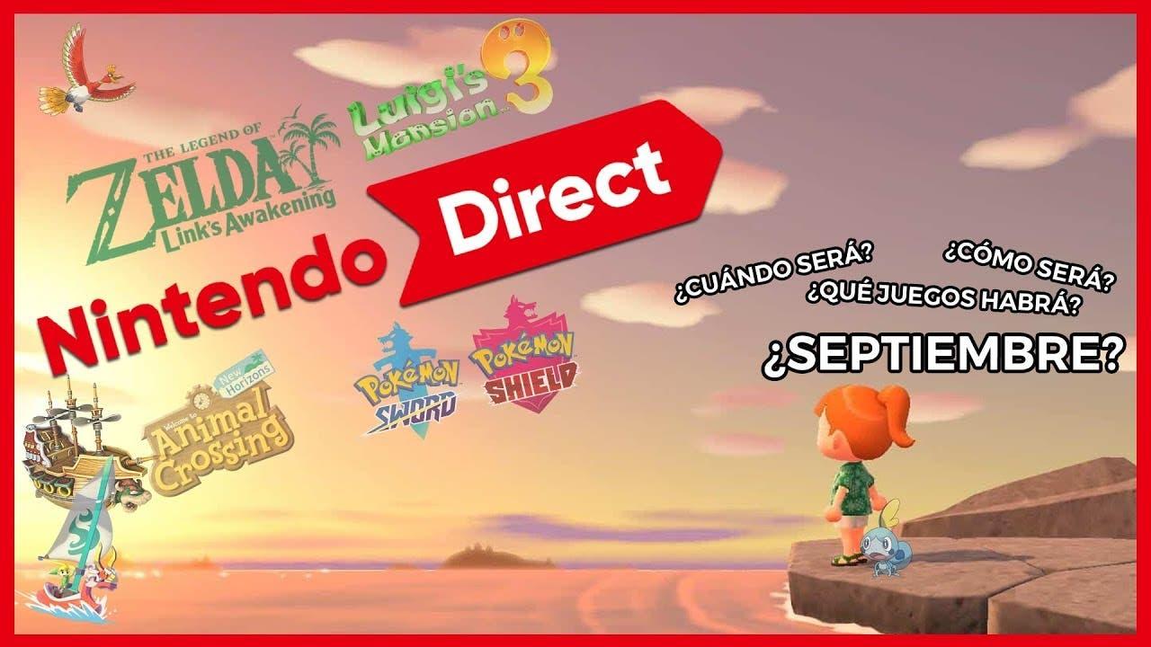 [Vídeo] ¿Habrá Nintendo Direct en septiembre? Juegos anunciados y teorías