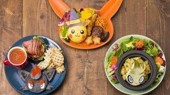 Se revela el menú del Pokémon Café de Tokio para Halloween 2019